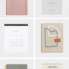 Cool Calendars and Cute Planners for 2021
