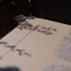 How to Paint Tile Floors (Porch Makeover)